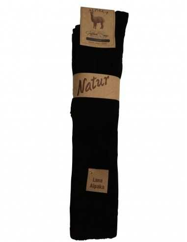Natur Vorgewaschen-ALPAKA - GAMBALETTO (2 PAIA)-Gambaletto in alpaka, venduto in confezione da 2 paia.