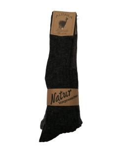 Natur Vorgewaschen-ALPAKA - GAMBALETTO (3 PAIA)-Gambaletto in alpaka, venduto in confezione da 3 paia.