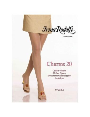 Irma Rodolfi-CHARME 20-Collant velato, opaco, corpino elasticizzato e antipiega.