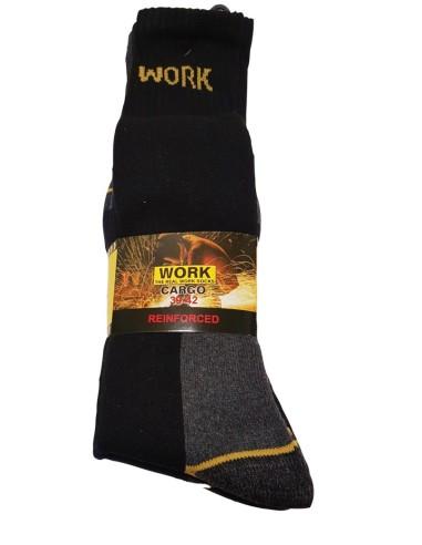 Work-WORK - GAMBALETTO (3 PAIA)-Calza da lavoro - Gambaletto, venduta in confezione da 3 paia.