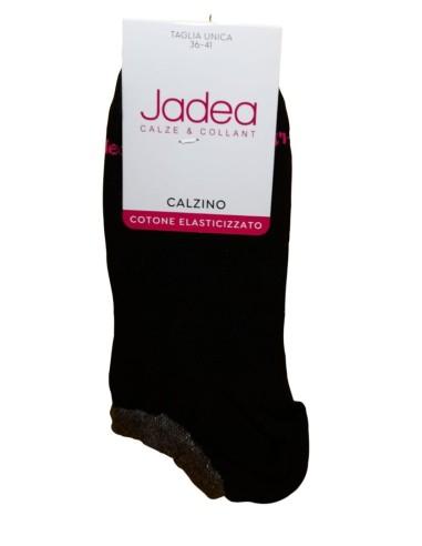 Jadea-CALZINO DONNA - PARISCARPA - Elasticizzato-Calzino da donna elasticizzato, disponibile in tinta unita (Bianco, Blu, Grigio e Nero).