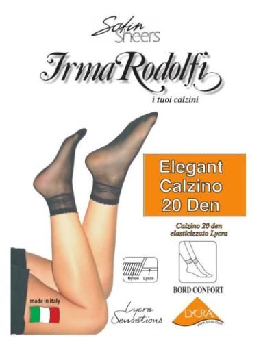 Irma Rodolfi-ELEGANT 20 CALZINO-Calzino 20 DEN, disponibile in vari colori.